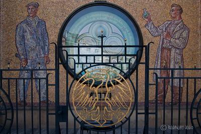 Astronomical Clock Detail: year