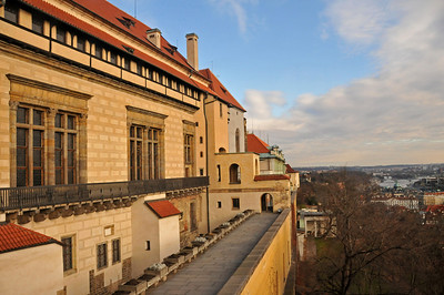 Old Royal Palace in Prague Castle