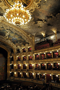 In the State Opera - there is a performance of Carmen (Bizet)