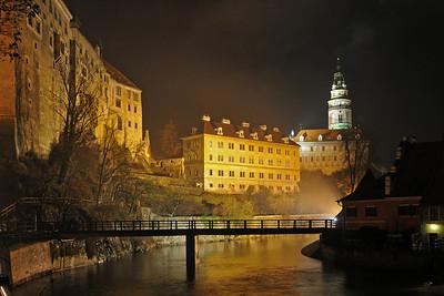 Castle in Český Krumlov (South Bohemia)