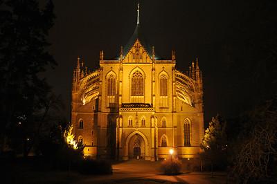 St. Barbara's Church in Kutná Hora