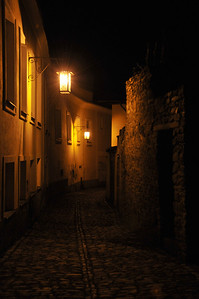 Little streets in Kutná Hora