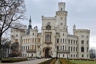 Castle in Hluboká nad Vltavou