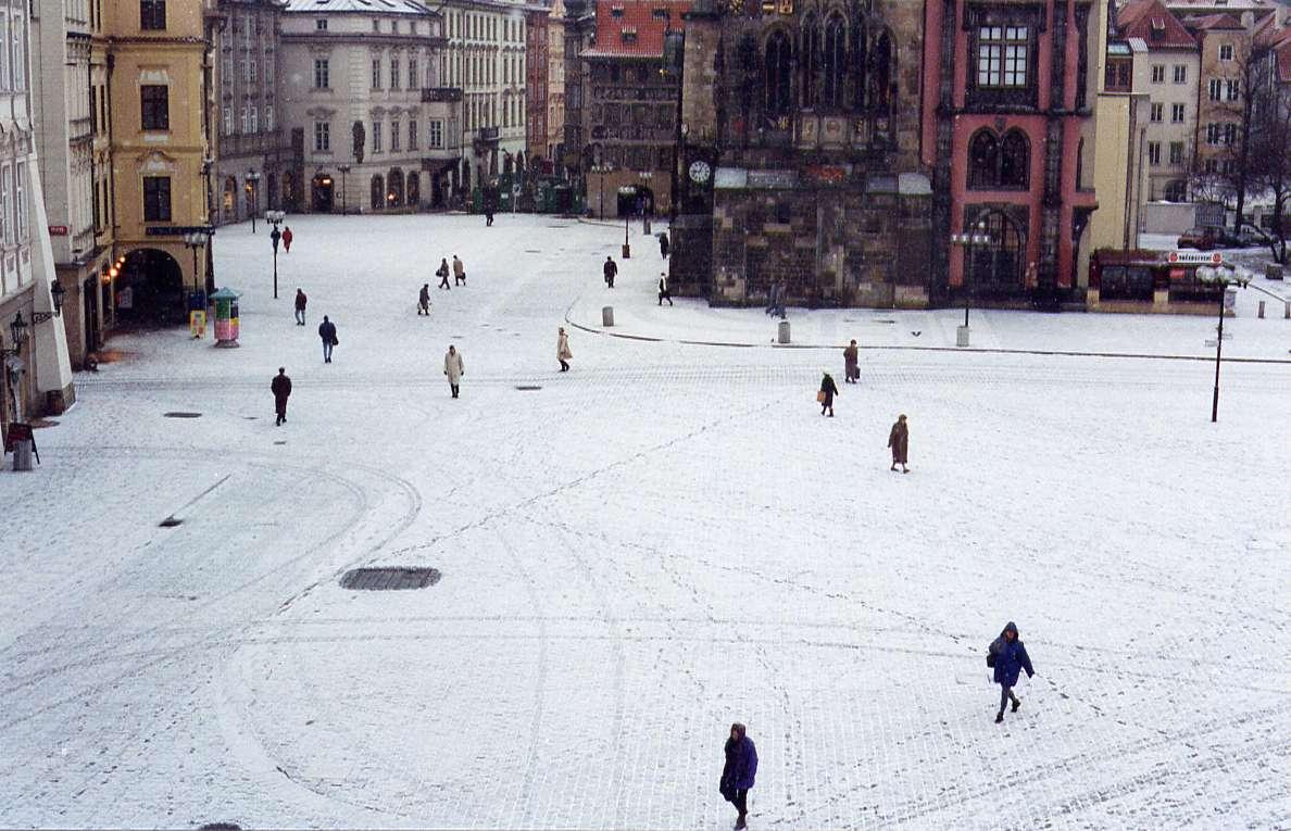 Staromestske namesti, Prague - 1995