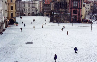 Staromestske namesti, Prague - 1995