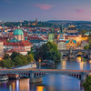 Prague Sunset.
