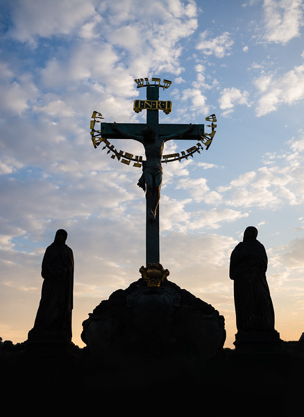 Cross, Charles Bridge