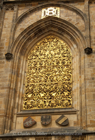 Window, St. Vitus Cathedral, Prague Castle