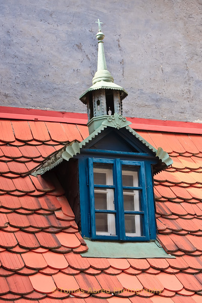 Roof Detail, Prgaue