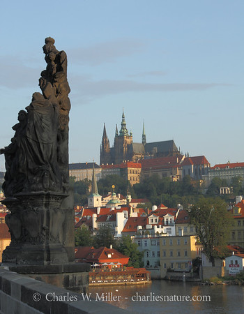 The Prague Castle from the Charles Bridge, Prague