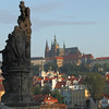 The Prague Castle from the Charles Bridge, Prague