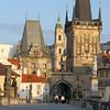 Early morning on the Charles Bridge, Prague