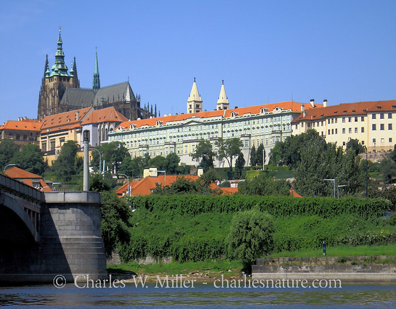 The Prague Castle from the Vitava River