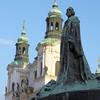 Jan Hus Memorial, Old Town Square, Prague
