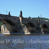 The Charles Bridge from the Vitava River