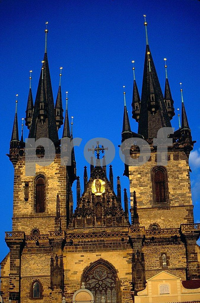 Prague Tyn Church 3