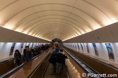 Down to subway