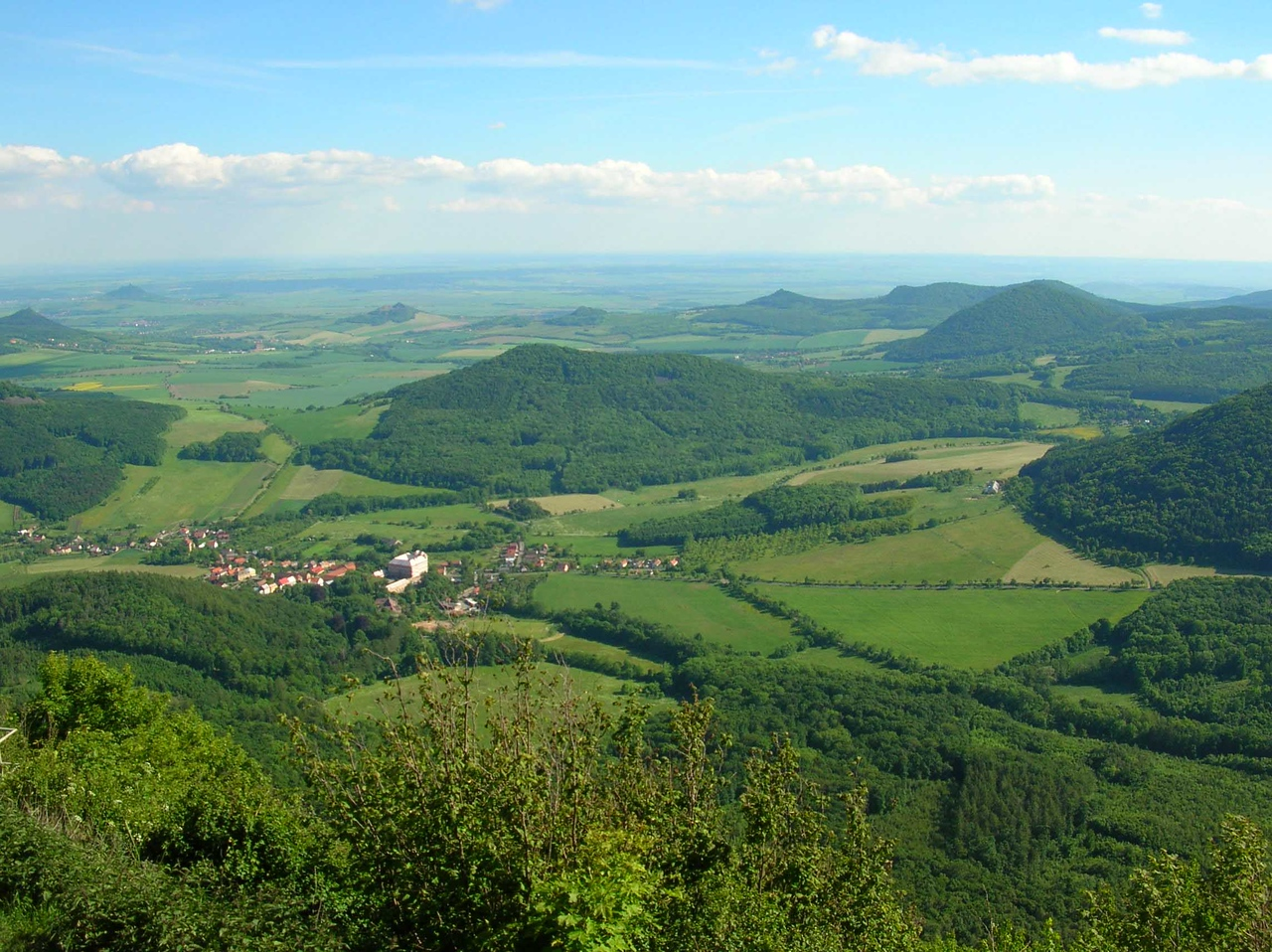 The view from Milesovka - 2006
