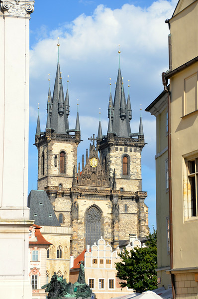 Old Town Square and Cathedral