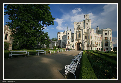 The Czech Republic - Hluboka Castle