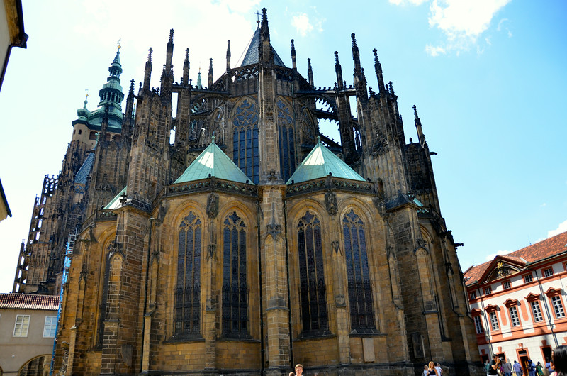 St. Vitus Cathedral another view...