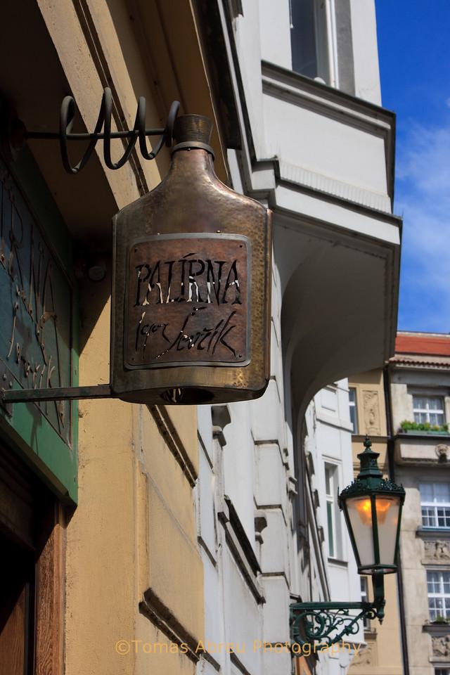 Bar Sign, Prague