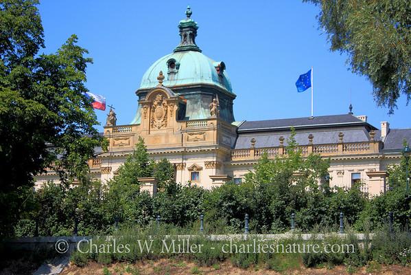 Czech parliament building, Prague