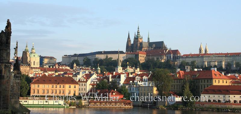 The Prague Castle at Sunrise, Prague