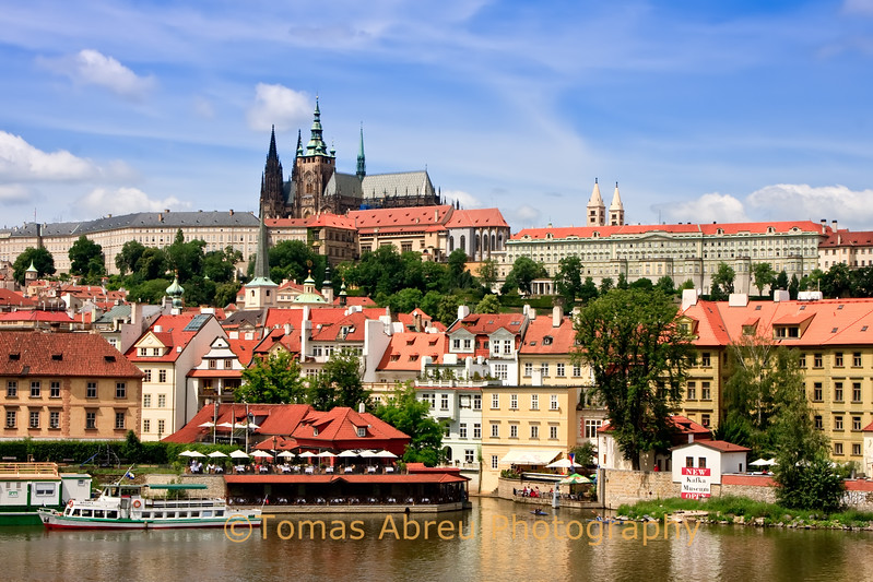 Prague, View from Charles Bridge