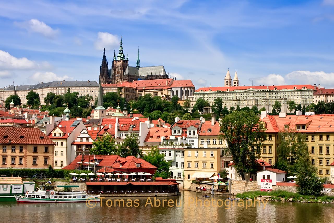 Prague, View from Charles Bridge