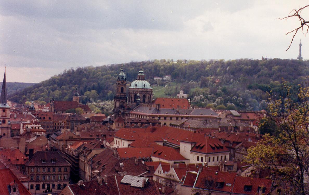 Mala strana, Prague - 1992