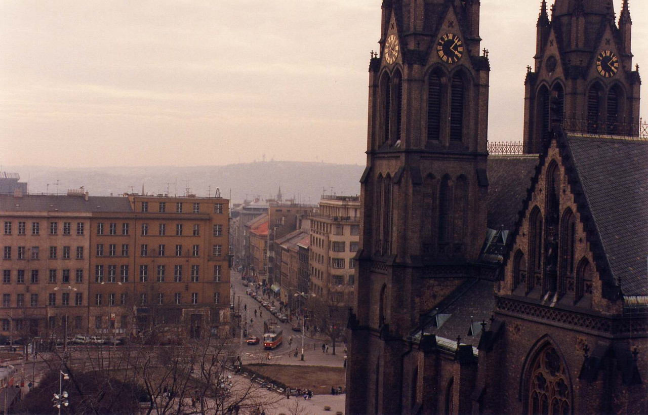 Namesti miru, Prague - 1992