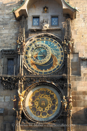 Astronomical clock, Old Town Hall, Prague