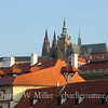 Spires of Prague Castle from the Charles Bridge