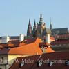 Spires of Prague Castle from the Charles Bridge