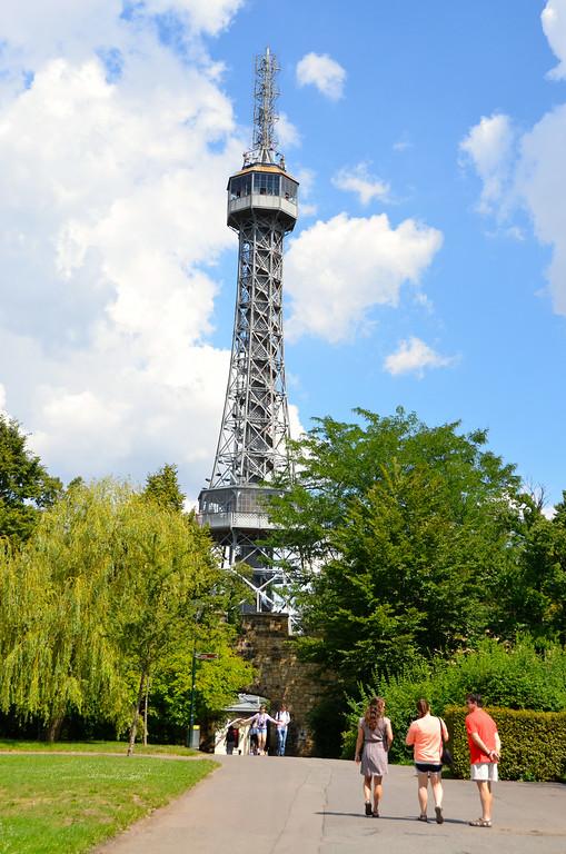 Prague's own Eiffel tower in miniature!