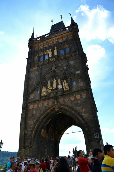 Entry to Charles Bridge
