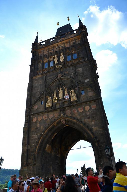 Entry to Charles Bridge