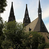 St. Peter & Paul Church, Vysehrad Castle, Prague