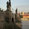 Sunrise on the Charles Bridge, Prague