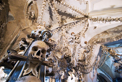 """Hey You!""  Sedlec Ossuary.  Kutna Hora, Czech Republic."