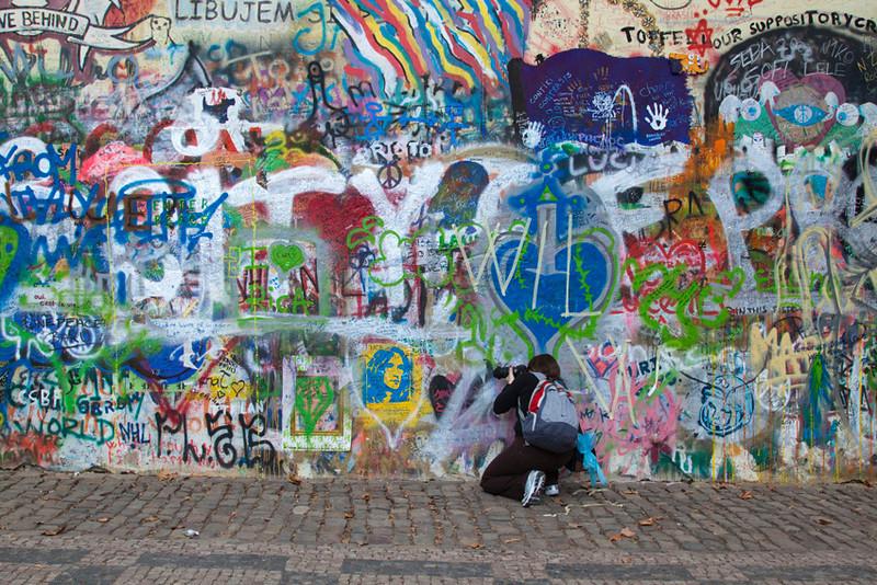 John Lenon Wall, Kampa