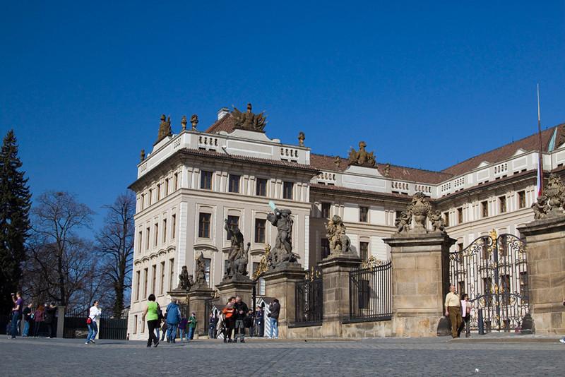 Castle gate