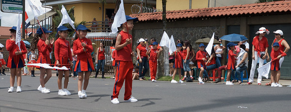 San Isidro de el General, Costa Rica September 2013  Independence Day Parade.