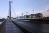 U74 crossing Oberkasseler Brücke