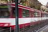 Train departing Luegplatz