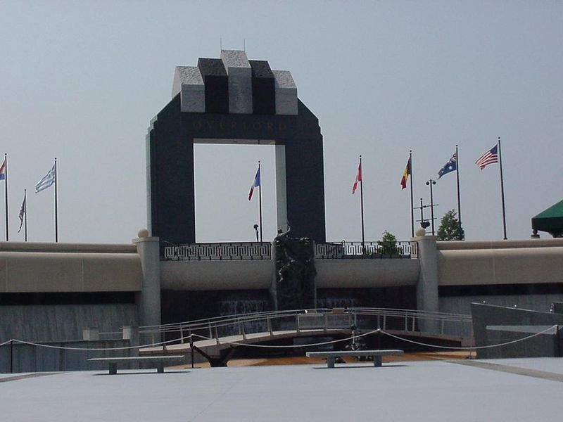 The National D-Day Memorial is located in Bedford, Virginia. Propotionally this community suffered the nations's severest D-Day losses. By day's end, nineteen soldiers from Bedford's 116th Infantry Regiment were dead.