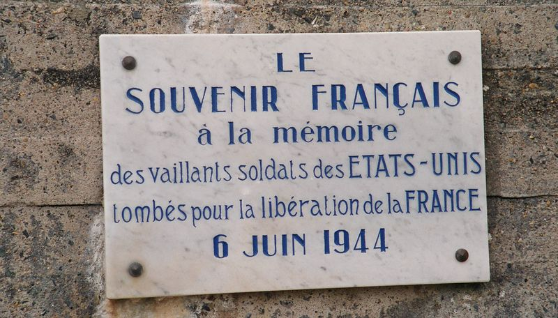 In Normandy, people do not forget those who fell for the liberation of France.