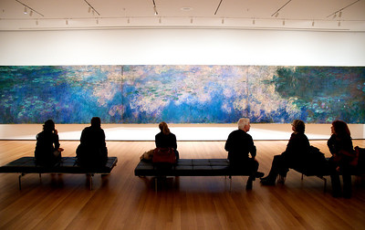 MoMA - Monet's Water Lilies