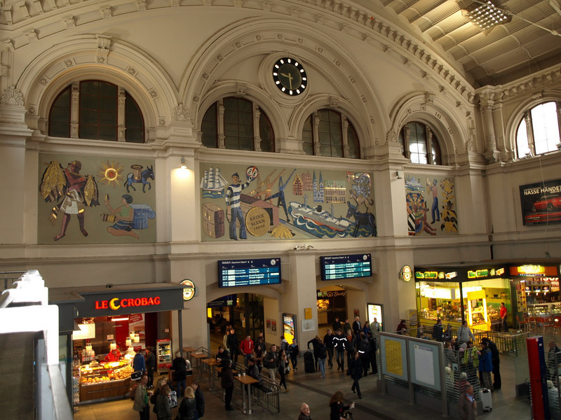 Bremen, Central Station, Main hall